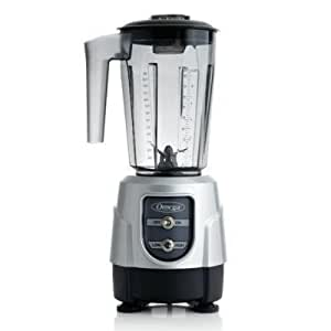 Omega Juicers Omega BL330S 1-HP Blender, 48-Ounce Tritan Copolyester Container, Silver