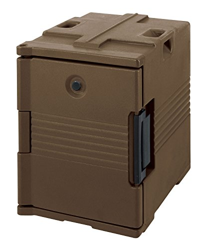- Cambro UPC400131 Stackable Front Loading Camcarrier Ultra Pancarrier, One-Piece Polypropylene Shell, Foam Insulation, Dark Brown, NSF