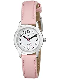 Timex Kids T79081 My First Timex Easy Reader Watch with Pink Faux Leather Strap