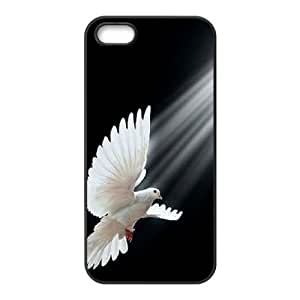 White Dove Personalized Case for Iphone 5,5S, Customized White Dove Case by mcsharks