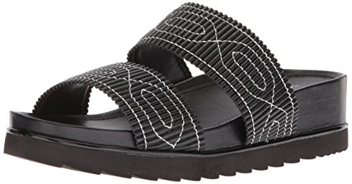 Donald J Pliner Women's CAIT Slide Sandal, Black, 8.5 Medium US