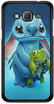 Coque pour Samsung Galaxy Grand Prime Lilo Stitch Tortue Love Ohana Citation Disney Case Swag Princesse Alice mozaique Stitch Blanche Neige Cendrillon ...