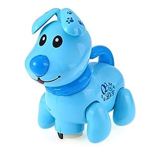 Treasure-house Universal Dog Toys Electric Robot Dogs Electronic Preschool Educational Pet Music Shine light Walk…