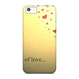 For Iphone 5c Protector Case Words Of Love Phone Cover