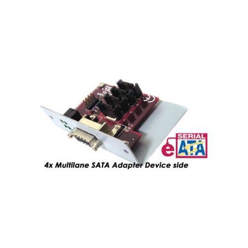 Multilane or Infiniband Device adapter Device side - 4x SATA ports