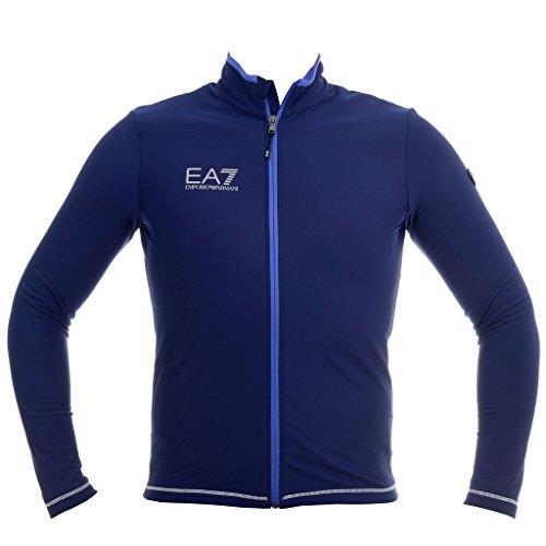 Armani EA7 Technical Down Fleece; color:Blu Notte; size:L