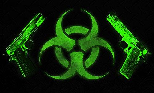 Biohazard Green Apocalypse Doormat 18