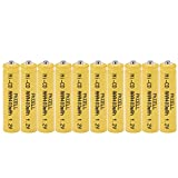 AAA NiCd 1.2V Rechargeable Batteries for Garden Landscaping Solar Lights (10pc)