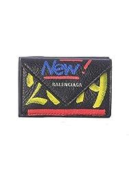 Balenciaga Women S 3914460febn1073 Black Leather Wallet