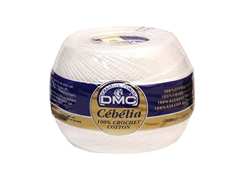 Cebelia Crochet Cotton Size 30-Bright White