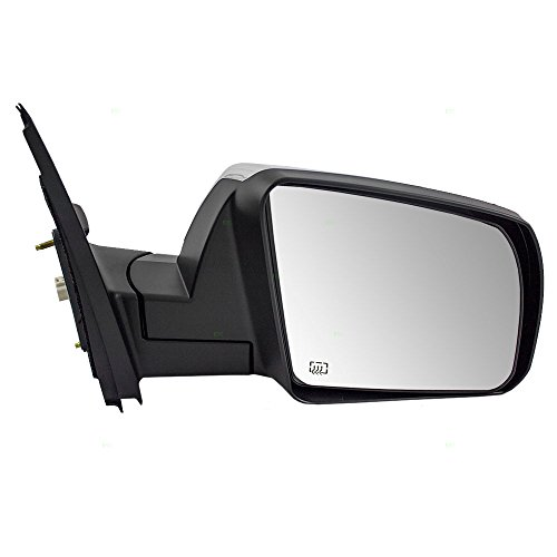 Passengers Power Side View Mirror Heated Chrome Replacement for Toyota Tundra Pickup Truck 879100C470