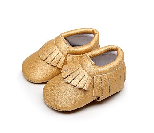 AngelaKerry - Zapatos primeros pasos para niño Soil Yellow