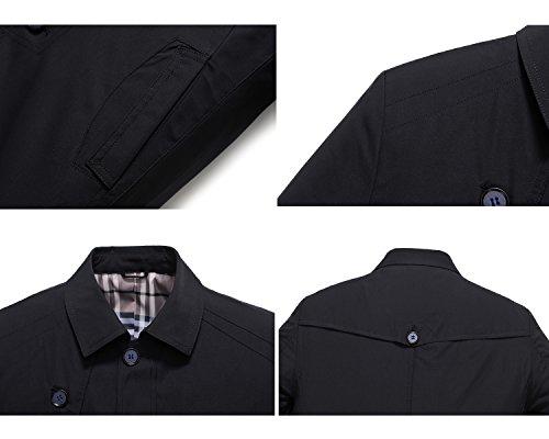 Uomo Fashion Deep Giacca Navy Glestore 6q0EwBx
