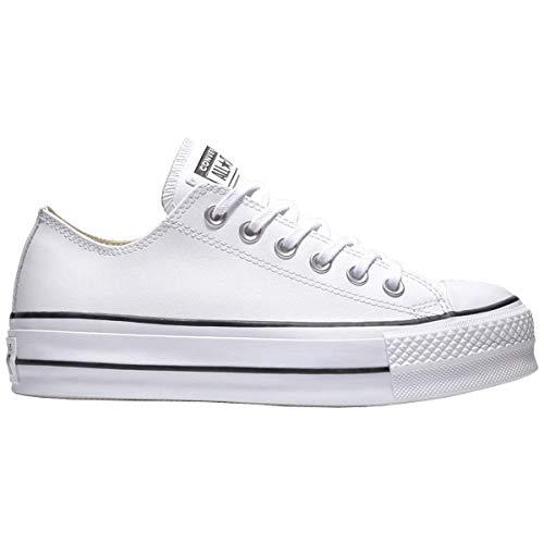 Clean Lift white Femme Sneakers 102 black Ox Blanc Basses white Black white Converse Ctas qEZwgg