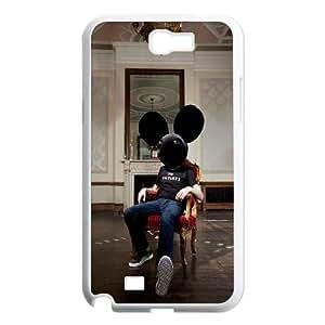 Samsung Galaxy N2 7100 Cell Phone Case White Electronic Dj Deadmau5 VIU969746