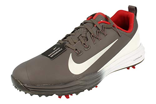 Nike Lunar Command 2 Mens Golf Shoes 849968 Sneakers Trainers (UK 7 US 8 EU 41, Thunder Grey Metallic Silver 006)
