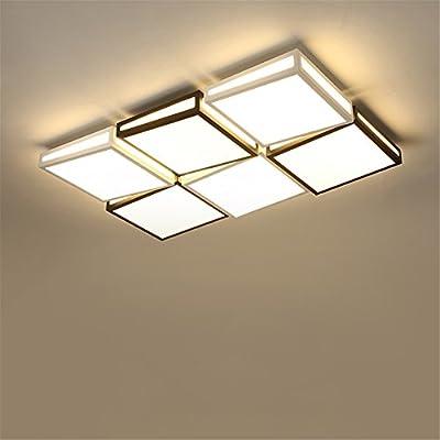Wmshpeds Salón lámpara, simple y moderno, casa atmosférica ...
