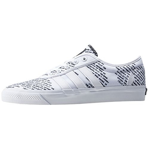 adidas Adi-Ease, Scarpe da Ginnastica Unisex – Adulto, Bianco (Ftwbla/Negbas/Ftwbla), 42 EU