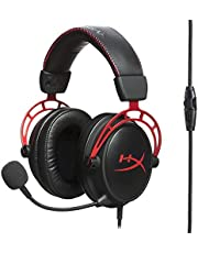 HyperX Cloud Alpha Pro Gaming Headset for PC, PS4 & Xbox One, Nintendo Switch (HX-HSCA-RD/EE)
