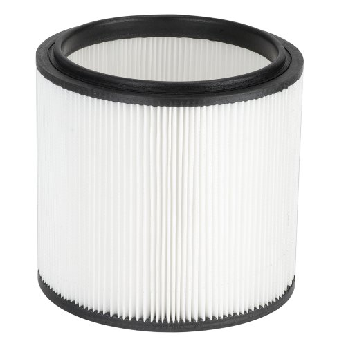 Vacmaster HEPA Material Fine Dust Cartridge Filter & Retainer, VCFH -