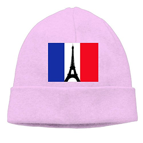 Music Rental Costumes Man (Uanjuzn French Flag With The Eiffel Tower Men/Women Cool Fashion Hedging Hat Wool Beanies Cap)