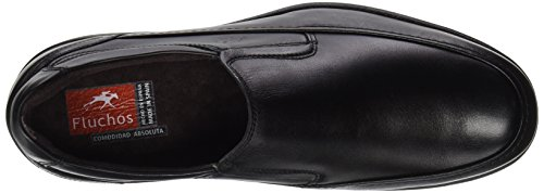 Negro Retail ES Hombre sin Cordones 8499 Spain Fluchos Negro Negro Ave Zapatos Zqwv167