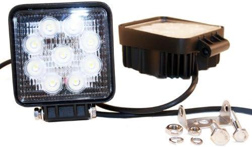 01-2827-12L LED High Output 4.5 Round Flood Light Delta Lights