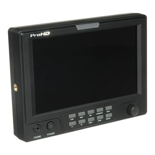 JVC DT-X71FI ProHD 7-in AC/DC PORTABLE FULL FEATURED MONITOR (HD-SDI, HDMI, COMPOSITE) - Jvc Computer Monitor