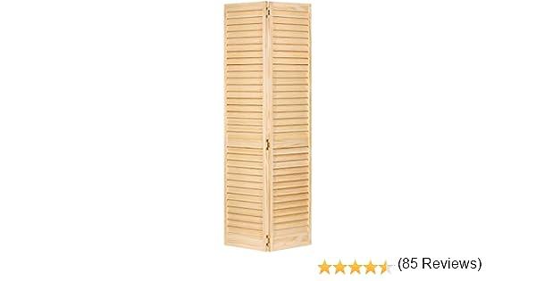 Puerta de armario, bidireccional, planta Louver Louver: Amazon.es: Bricolaje y herramientas