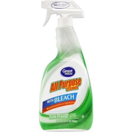 Great Value All Purpose Cleaner With Bleach, 32 oz