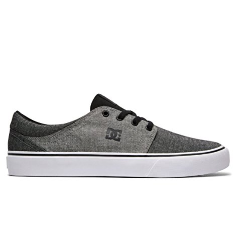 Se Baskets Black DC Battleship Basses Noir Black EU Noir TX Homme Shoes Gris 39 Trase n6tWqOIt