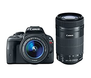 Canon EOS Rebel SL1 with 18-55mm STM with 55-250mm STM Lenses