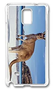 Adorable Kangaroo on BEach Hard Case Protective Shell Cell Phone Ipod Touch 5 - PC Transparent