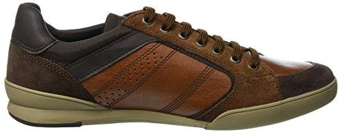 U Geox Kristof C0507 dk Para Zapatillas A Hombre browncotto Brown 6dZqR