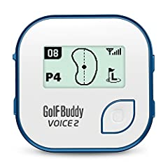 The second generation to the best selling voice, the voice 2 comes with an increased battery life, shows the front/center/back of the green, and is water resistant. Male/female voice option available through the free GolfBuddy manager Program...