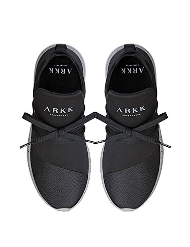 Arkk Copenhagen Raven 2.0 Mens Sneaker Nero Nero