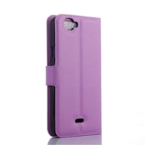 Funda WIKO Rainbow 4G ,Manyip Caja del teléfono del cuero,Protector de Pantalla de Slim Case Estilo Billetera con Ranuras para Tarjetas, Soporte Plegable, Cierre Magnético(JFC11-25) I