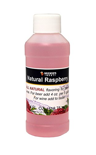 (Brewer's Best Natural Beer and Wine Fruit Flavoring (Raspberry))