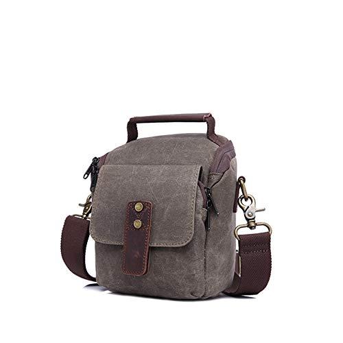 Houyazhan colore Color Bag e resistente Coffee impermeabile Armygreen all'usura Uomo Messenger 0076rqa