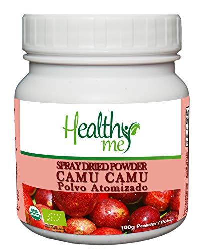 Healthy Me - Organic Camu Camu Spray Dried Powder, Highest Vitamin-C, 100-gr jar