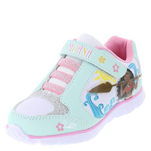 Disney Princess Moana Mint Pink Girls' Toddler Runner 11 Regular ()
