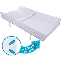 "Munchkin Secure Grip Waterproof Diaper Changing Pad, 16"" x 31"""