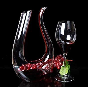 New Handmade Crystal Red Wine Pourer Glass Decanter Brandy Decant Set Jug for Bar Champagne Water Bottle Drinking Glasses Gift
