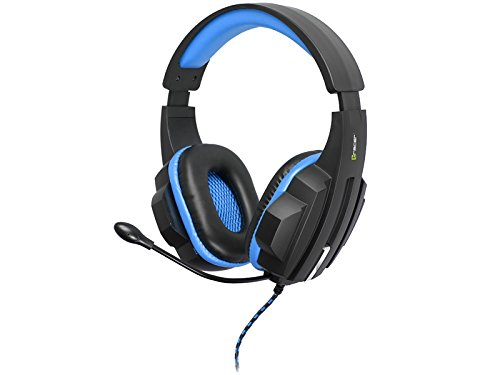 PC//Juegos, Binaural, Diadema, Negro, Azul, Al/ámbrico, 2,4 m Tracer Dizzy Binaural Diadema Negro Auriculares con micr/ófono Azul