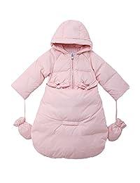 Oceankids Baby Girls' Newborn Pram Down Bunting Snowsuit 0-24 Months