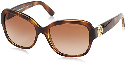 Michael Kors Women's Tabitha III Dark Tortoise/Brown Gradient - Michael Kors Sunglasses Women's