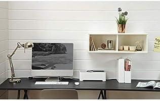 Curver - Caja Ebox Mediana Organizador de Cables Rectangular - Color Blanco / Gris: Amazon.es: Hogar