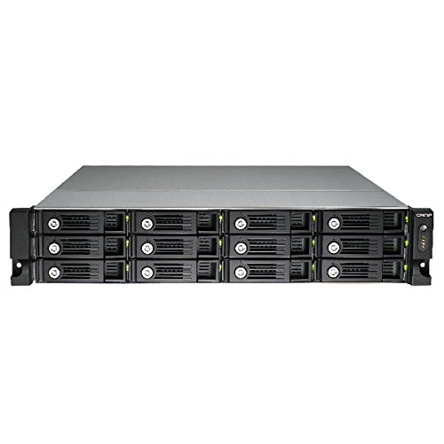 Qnap 12-bay High Performance Unified Storage (TVS-1271U-RP-i7-32G-US) by QNAP