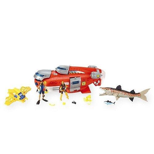 Animal Planet Deep Sea Submarine Playset (red)