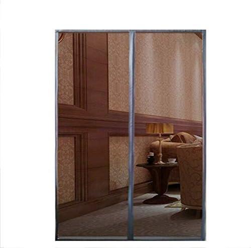 SQINAA Tamaño Extra Magnetica Corredera Cortina,de Pantalla De La Puerta con Cinta Mágica,sólido Mesh Mosquitera Puerta,Pantalla De Insectos-b 250 * 150cm(98 * 59in): Amazon.es: Hogar